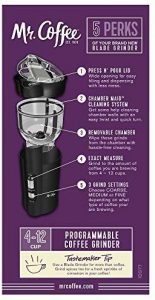 Mr. Coffee Electric Grinder Review