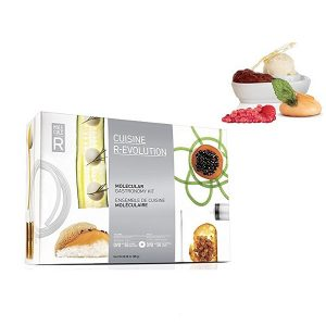 An image showing the molecular cuisine prize that we're reviewing here and will be giving away too.