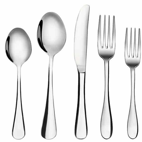 MCIRCO Set Is A Great Basic Family Meal Flatware Set 2