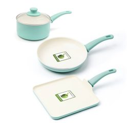 You can see the Green Life Cookware Set here, it's very attractive and very safe.