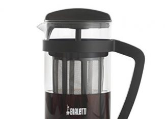 A photo of the Bialetti Cold Brew Coffee Maker which can be used to make tea and coffee.