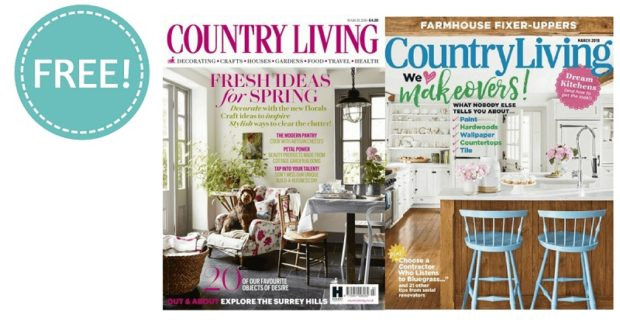 You can get ideas from the Country Living team for free when you sign up to their newsletter!