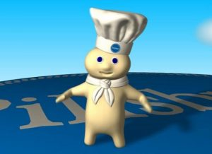 The mascot for Pillsbury is well-known and loved. This is a great way to see more of him in your home for less money.