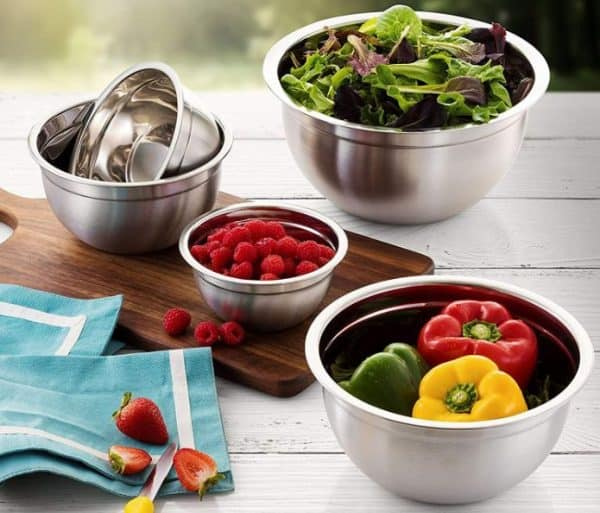 FineDines 5 Piece Stainless Steel Mixing Bowl Set Review 4