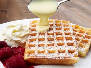 waffles made with aicok