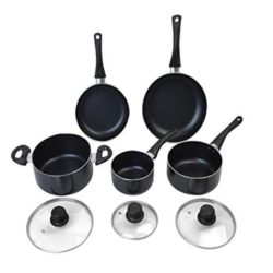 The high quality set laid out as individual items. You can save a lot of money for your kitchen with this set.