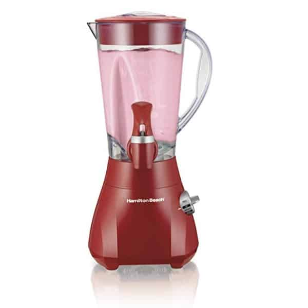 This blender looks awesome on red and it makes great smoothies too.