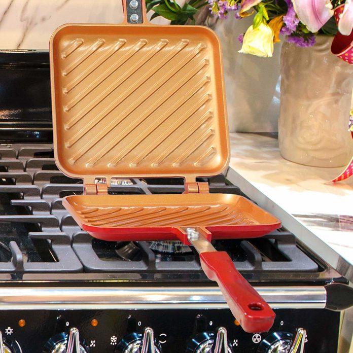 the bulbhead copper stovetop sandwich press