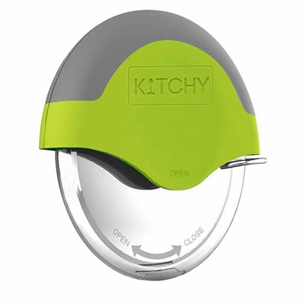 Kitchy Pizza Cutter Wheel – Make Pizza With No Hassle