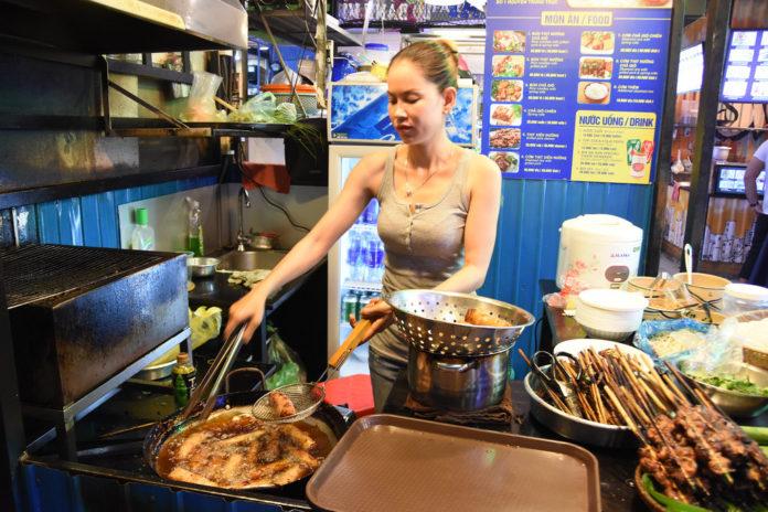 street food in saigon vietnam
