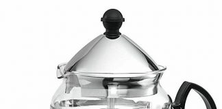 Chefs Star Glass Teapot With Infuser