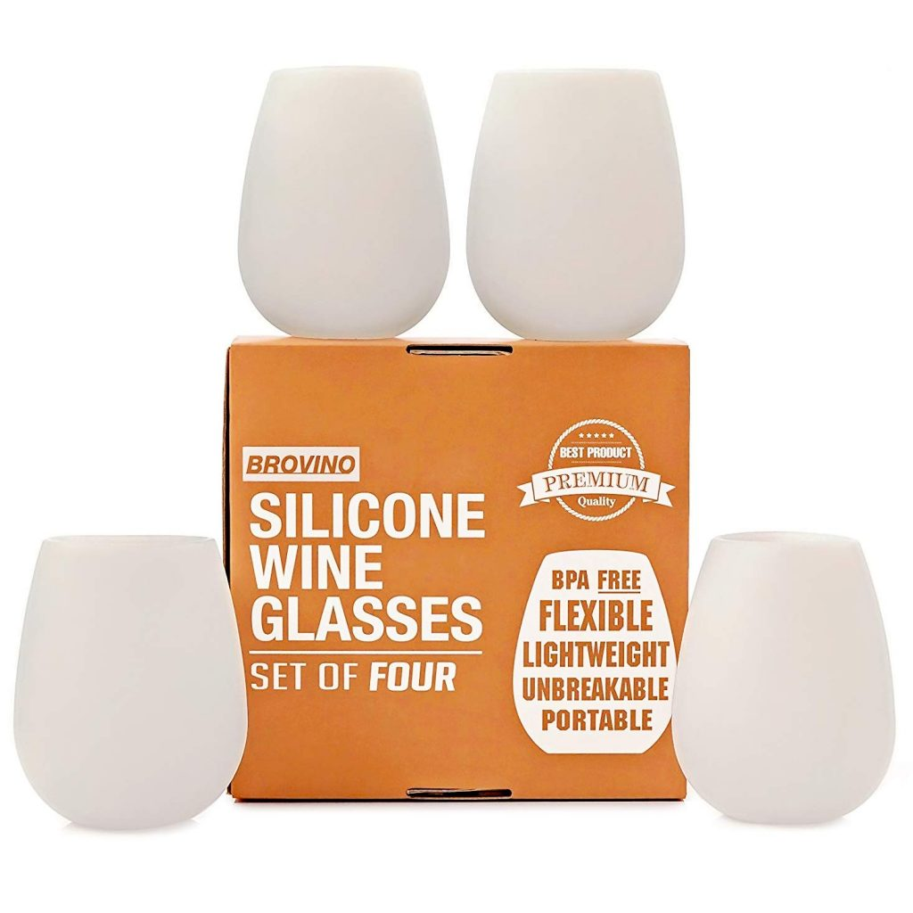 Unbreakable Silicone Wine Glasses