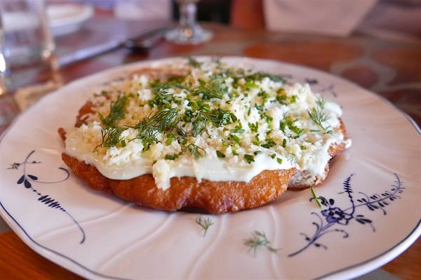 Langos (Hungarian Fried Bread) Is So Tasty! 2