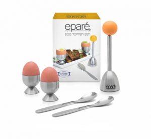 Epare Egg Cracker Topper Set