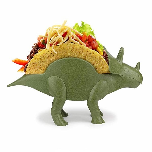 Kids Taco Holders Triceratops Dinousaur