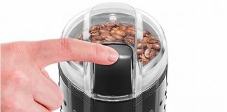 Chefman One Touch Stainless Coffee Grinder