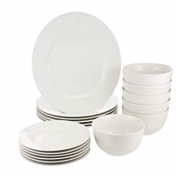 Amazon Basics 18-Piece Dinnerware Set - A Home Kitchen Bargain 2