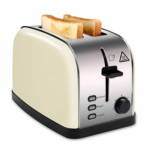 Madetec Toaster 2 Slice Wide-Slot Toaster