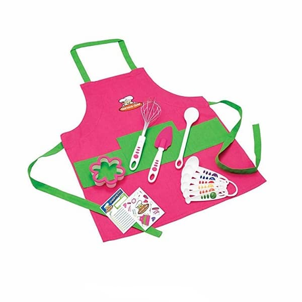 Curious Chef's 11 Piece Kid's Chef Kit