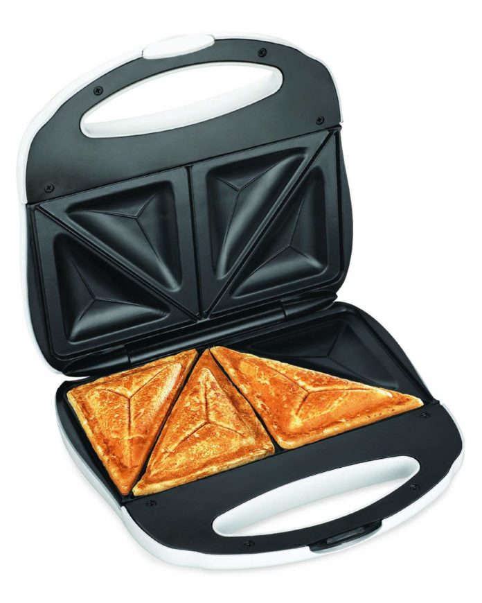 Lovely Sandwich in a sandwich maker