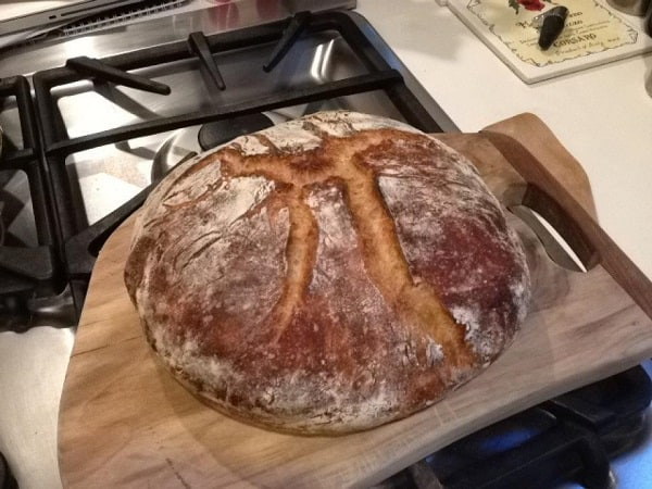 Fresh Bread From A Dutch Oven 2