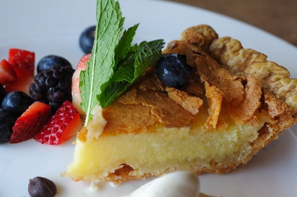 Southern Style Buttermilk Pie: Dessert Of The Day 2