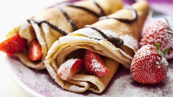 French Crepes: Dessert Of The Day 2