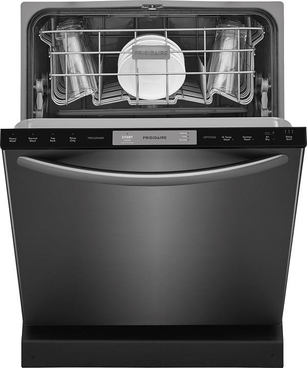 a black dishwasher