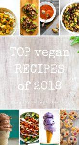 top vegan recipes 2019