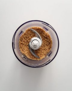 a blender full of brown sugar