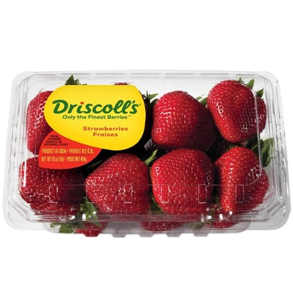 a package of driscolls berries