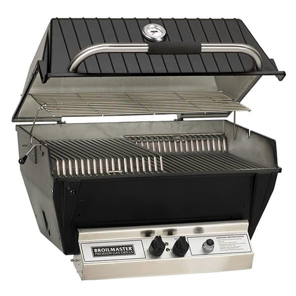 a premium gas grill