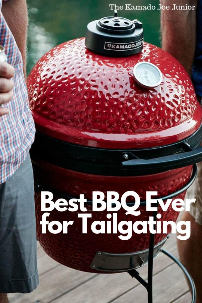 Best BBQ Ever for Tailgating | Kamado Joe Junior 4