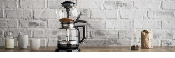 siphon coffee brewer cool