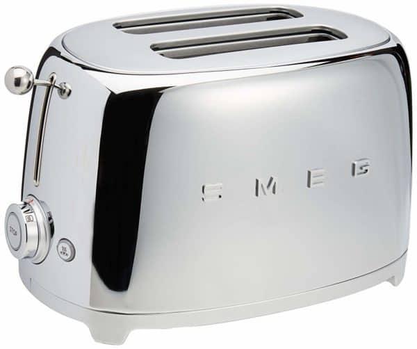 chrome smeg toaster