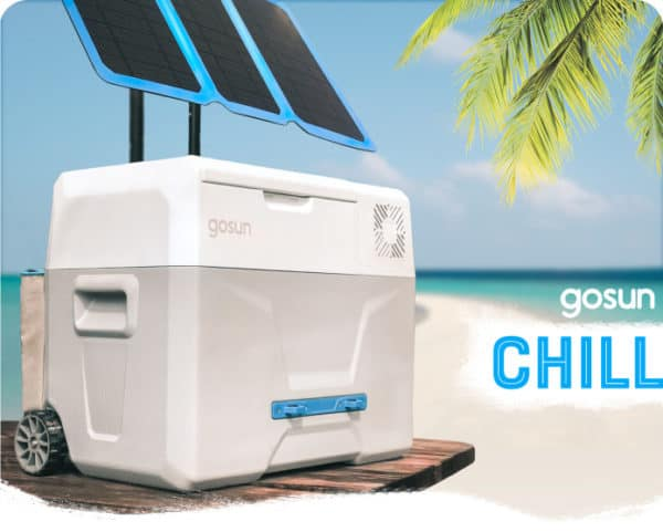 GoSun Chill Solar Cooler is So Cool It Doesn't Need Ice 2