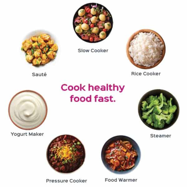 instant pot healthy food ideas