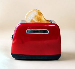 toaster popping