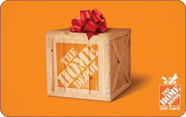 $1,000 The Home Depot e-Gift Card Sweepstakes 2