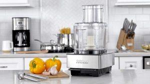 cuisinart food processor on counter