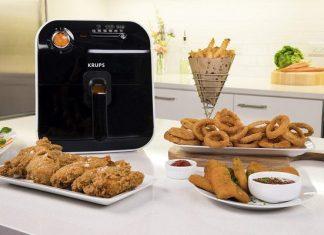 krups air fryer on counter