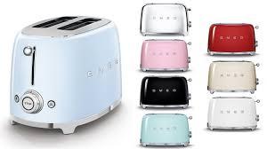 smeg toaster color choices