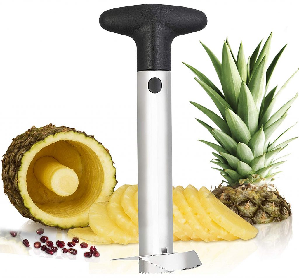pineapple corer on counter