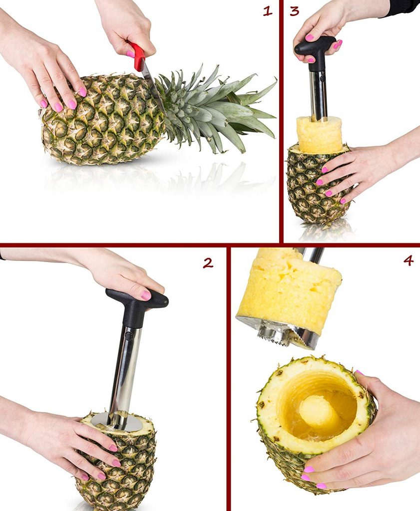 pineapple corer process reviewed