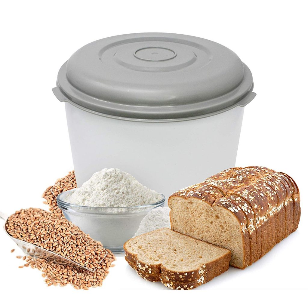wondermill with bread made from grain milled by the wonder mill