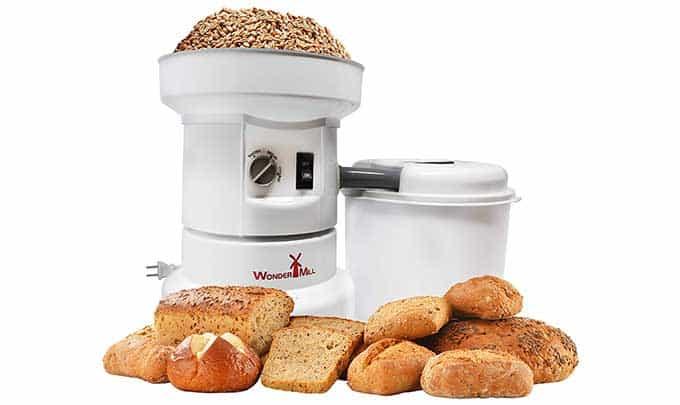 wondermill Grain Mill With Bread