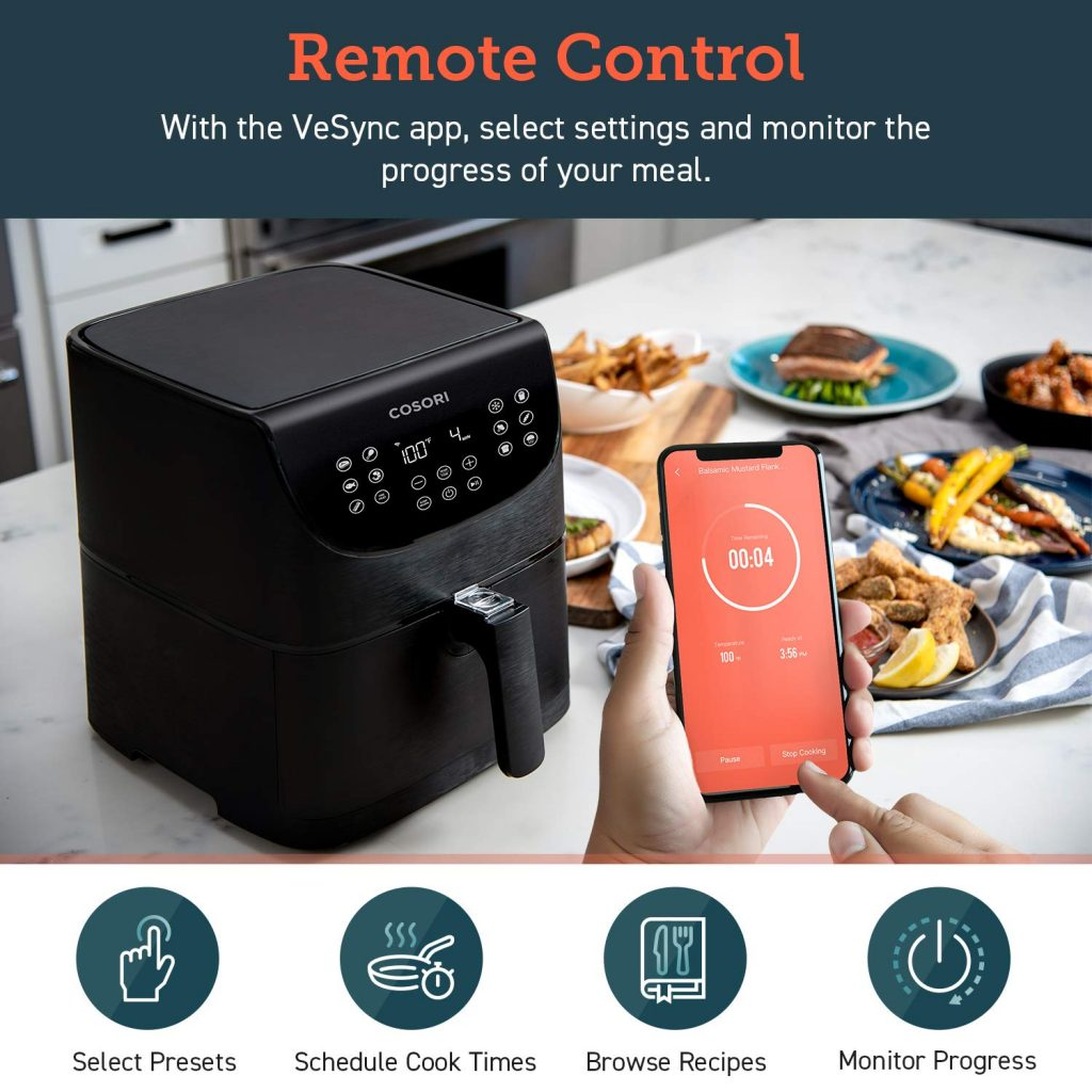 Cosori Smart WiFI Air Fryer App