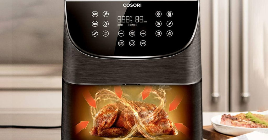 cosori wifi air fryer