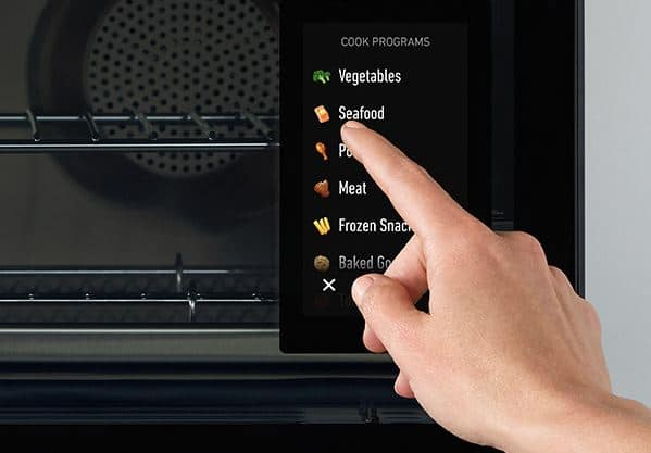 june oven review of touch screen
