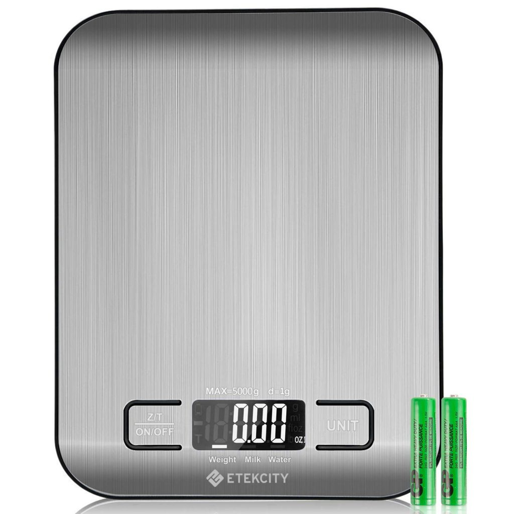 best kitchen scale with batteries
